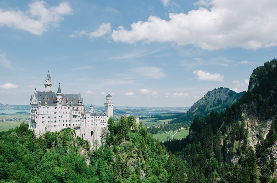 landmark, castle, germany