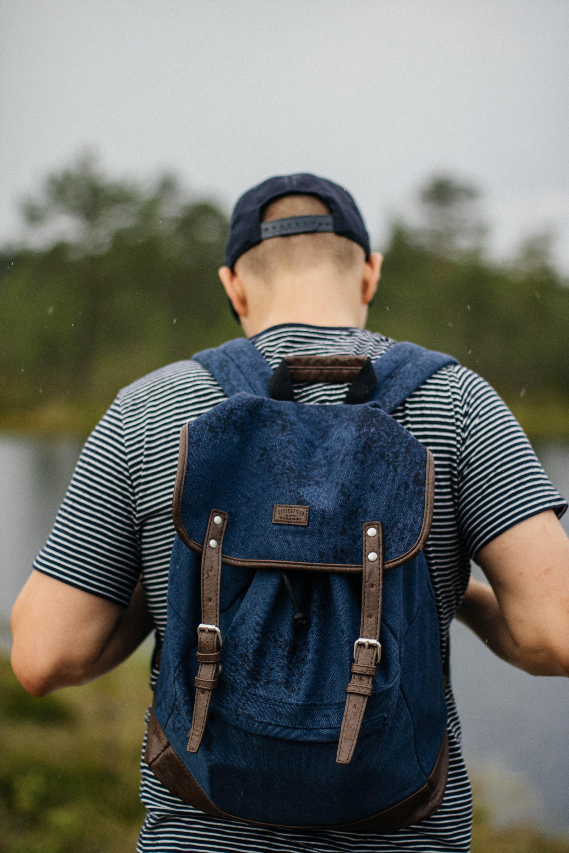 Man Wearing Black Backpack · Free Stock Photo