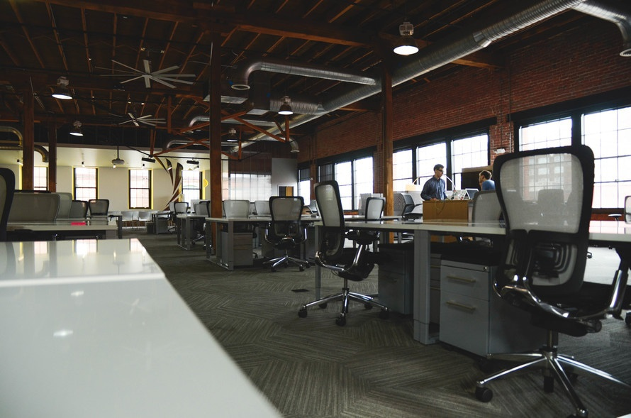 office, business, chairs, workspace