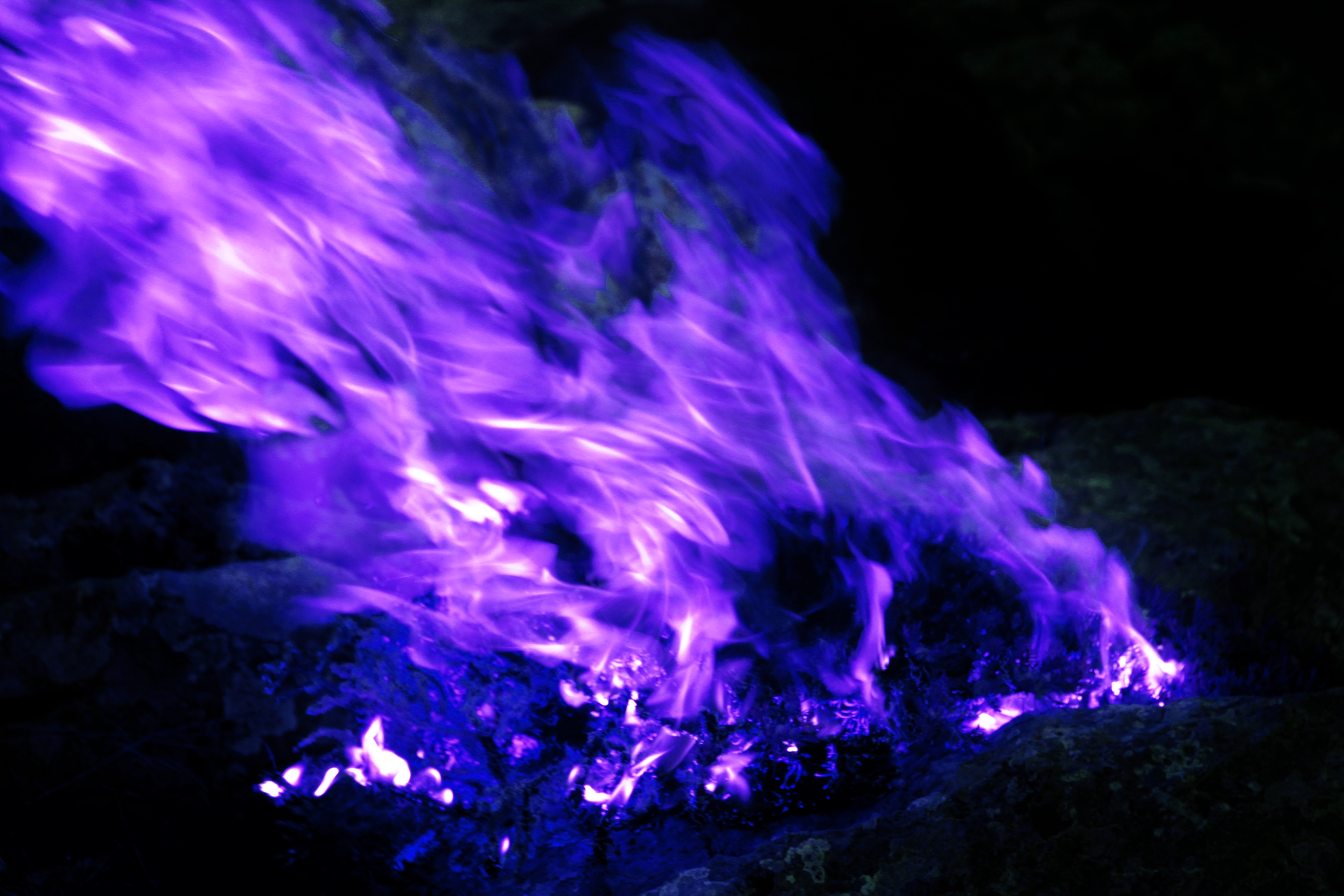 Free Stock Photo Of Black Blue Blue Fire