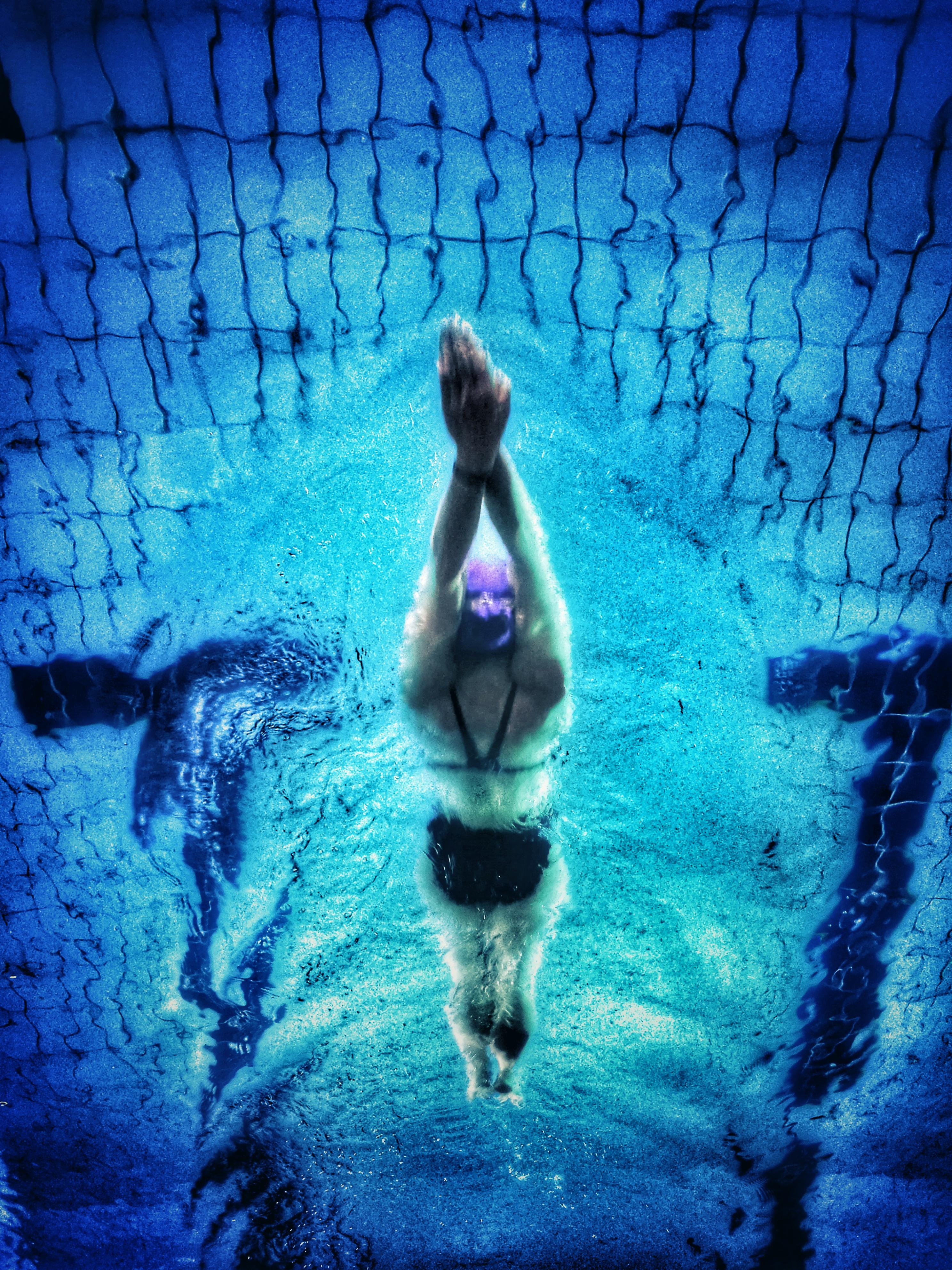Undervandsfotografering af svømmerfrit foto-7491
