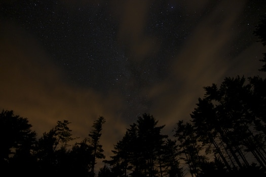 Free stock photo of sky, night, dark, stars