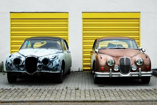 Free stock photo of cars, yellow, vehicle, vintage