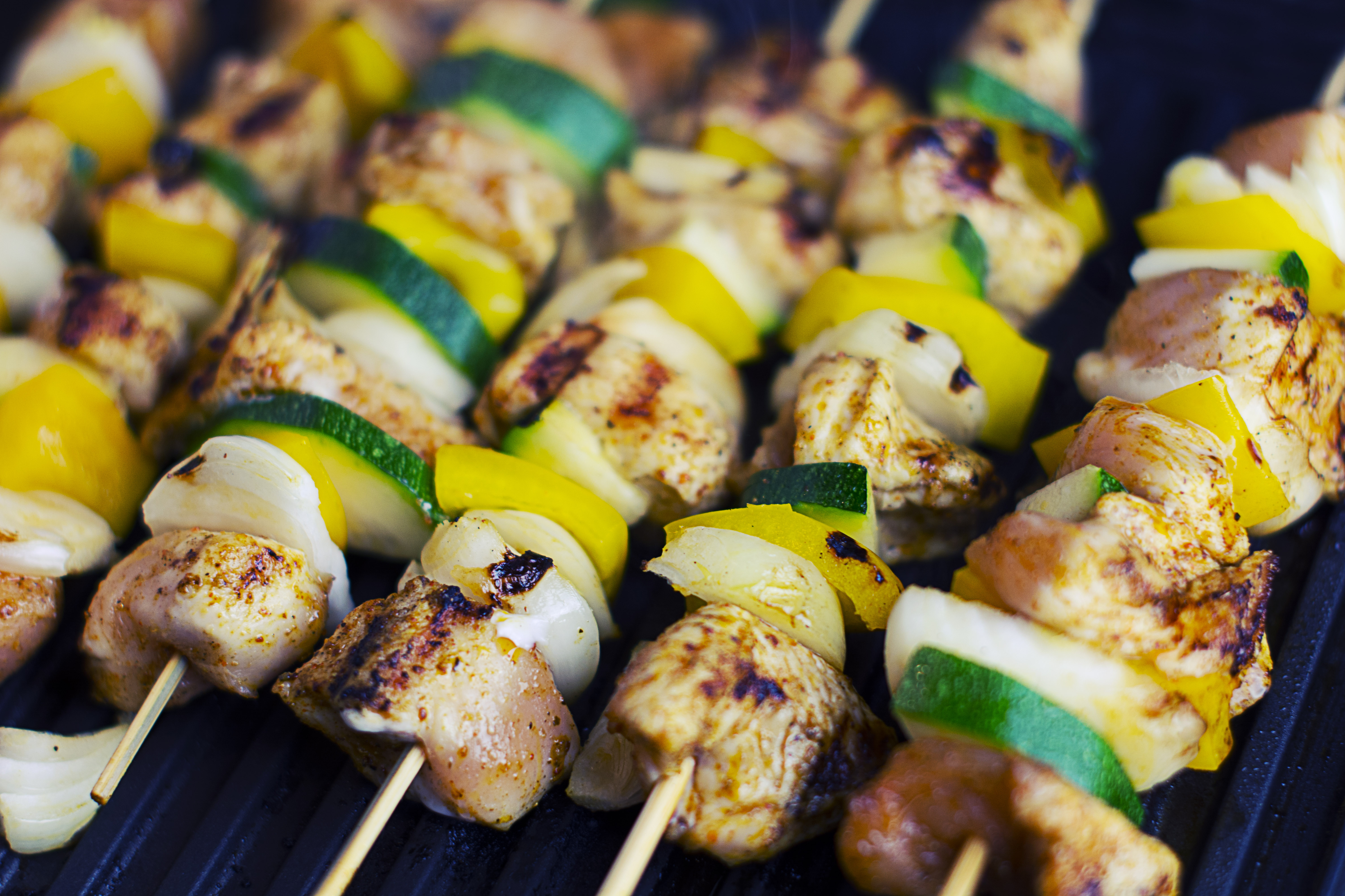 Green brown and black bar b q free stock photo for Food for bar b q