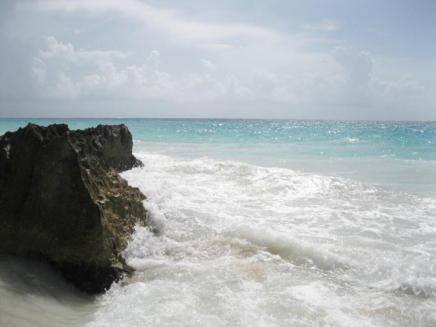 sea, waves, coast, rock