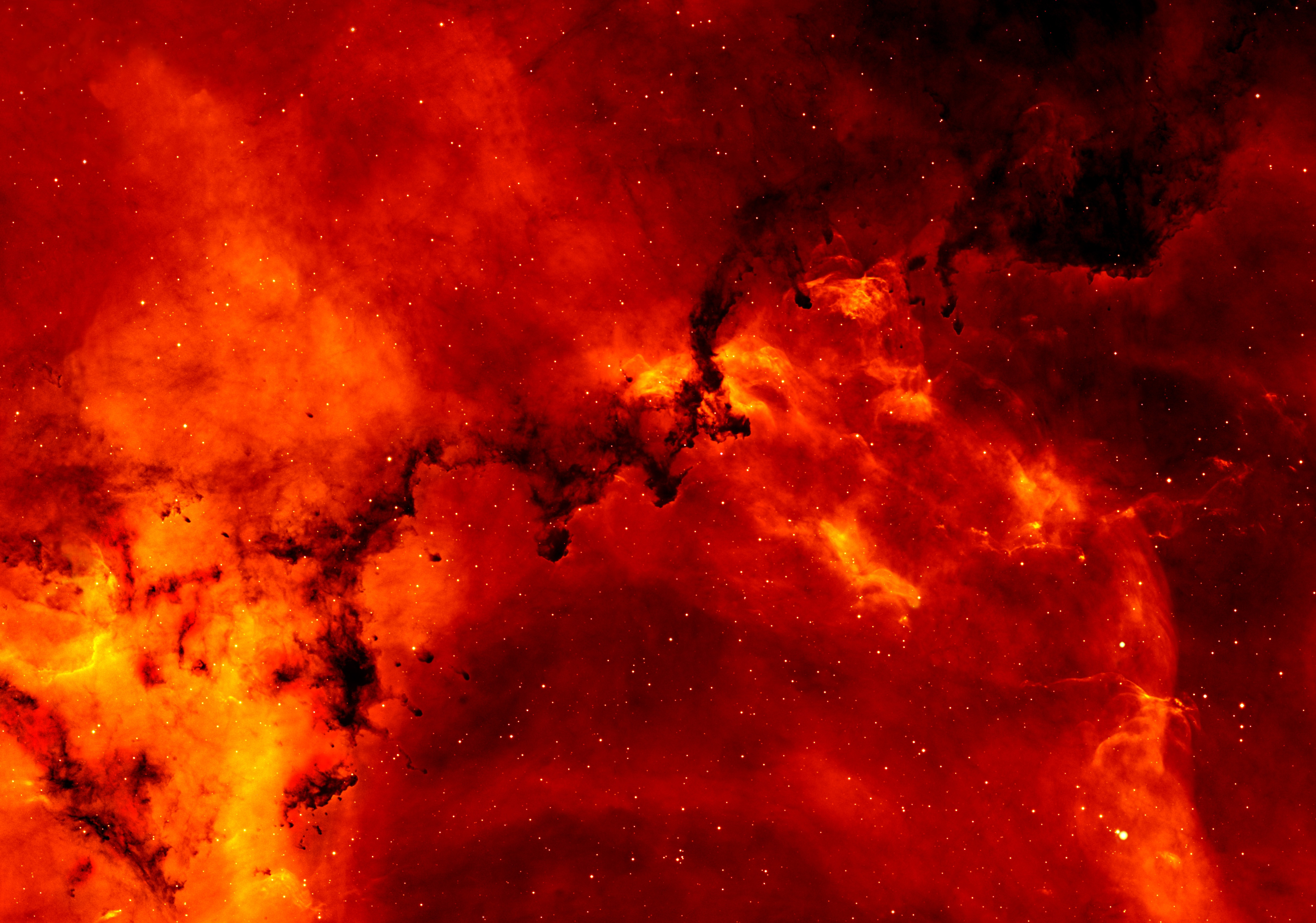 black and orange nebula - photo #18