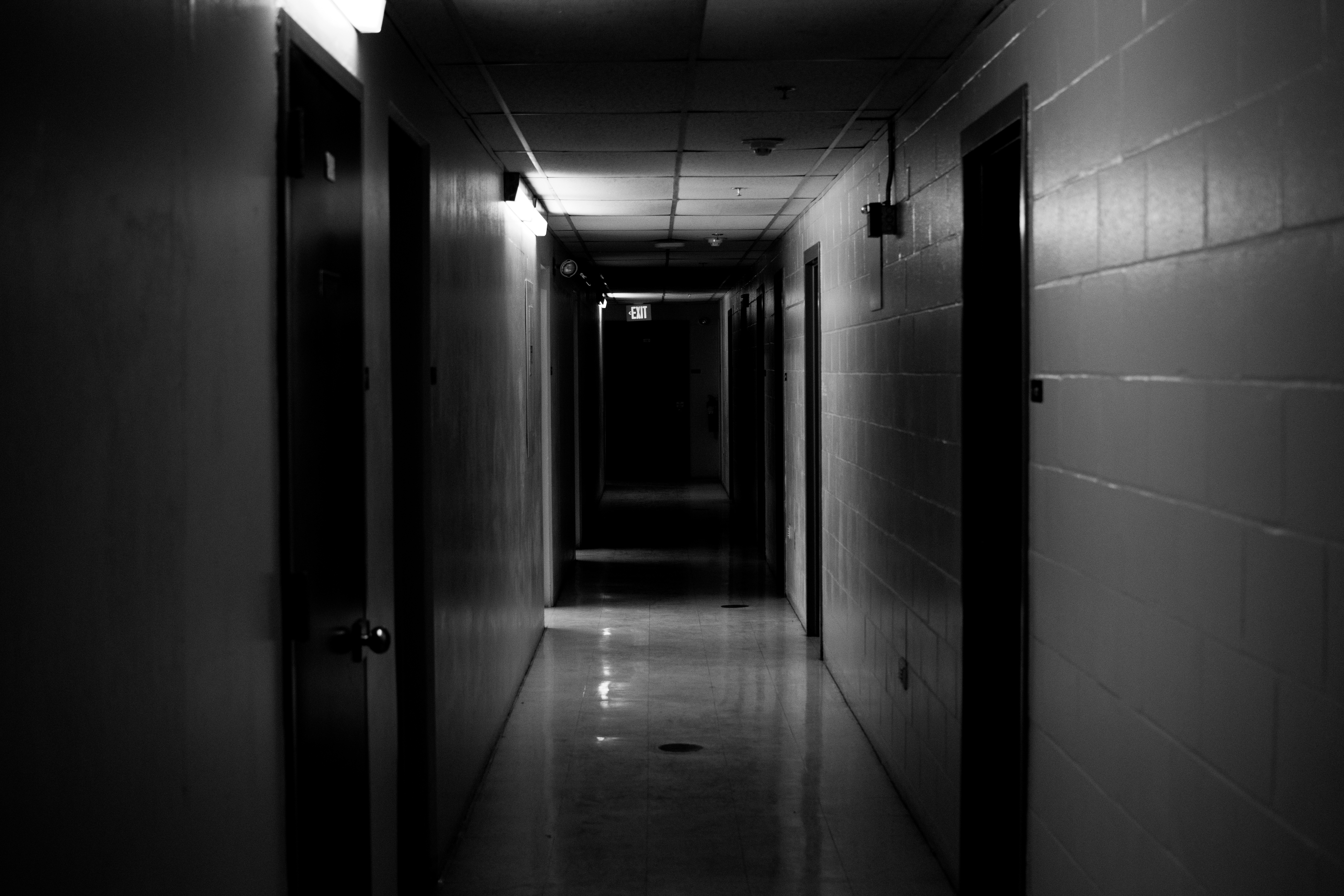 Free Stock Photo Of Basement Dark Hallway - Dark creepy basement
