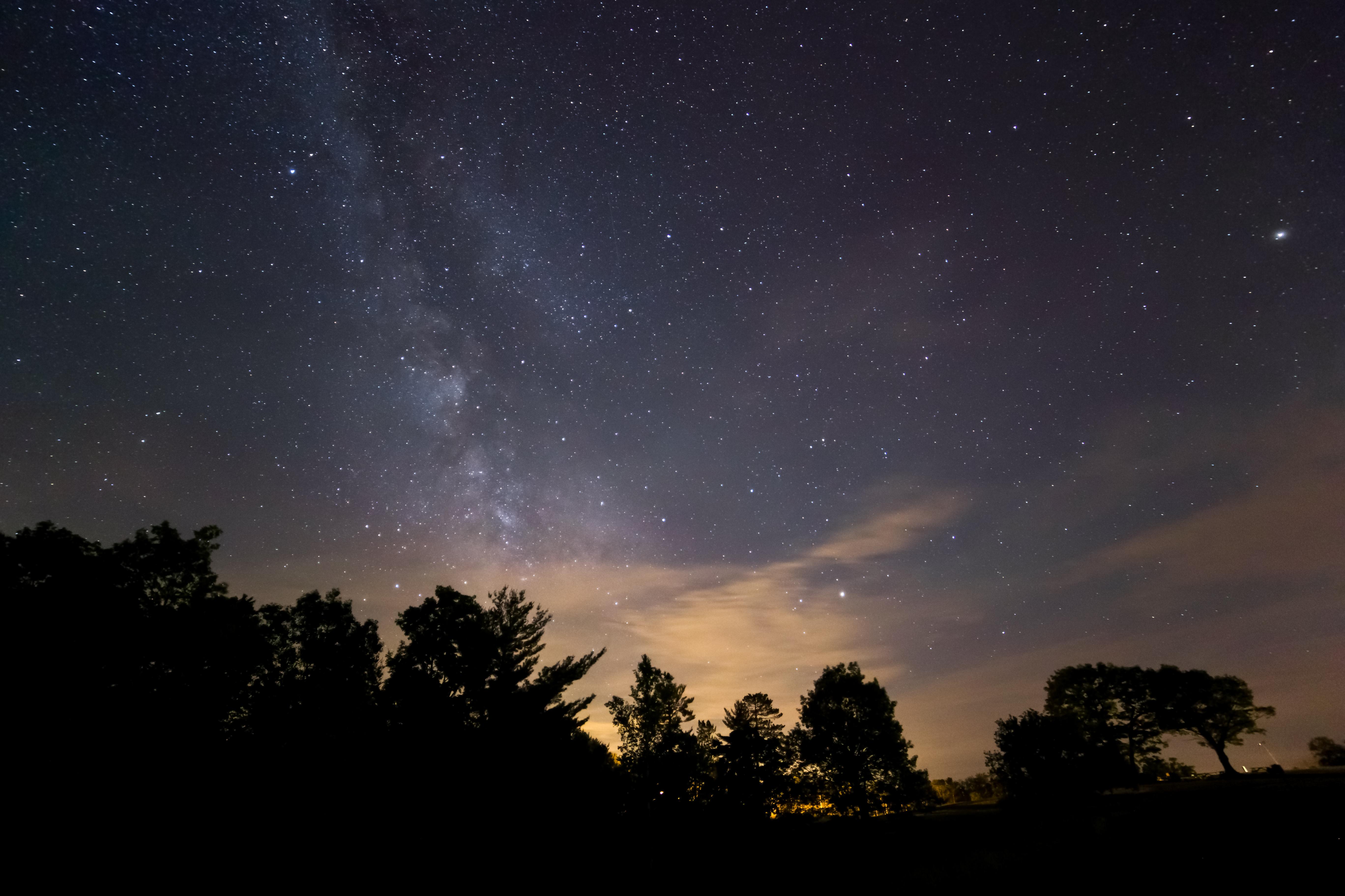 Free stock photo of milky way, night, stars  Night