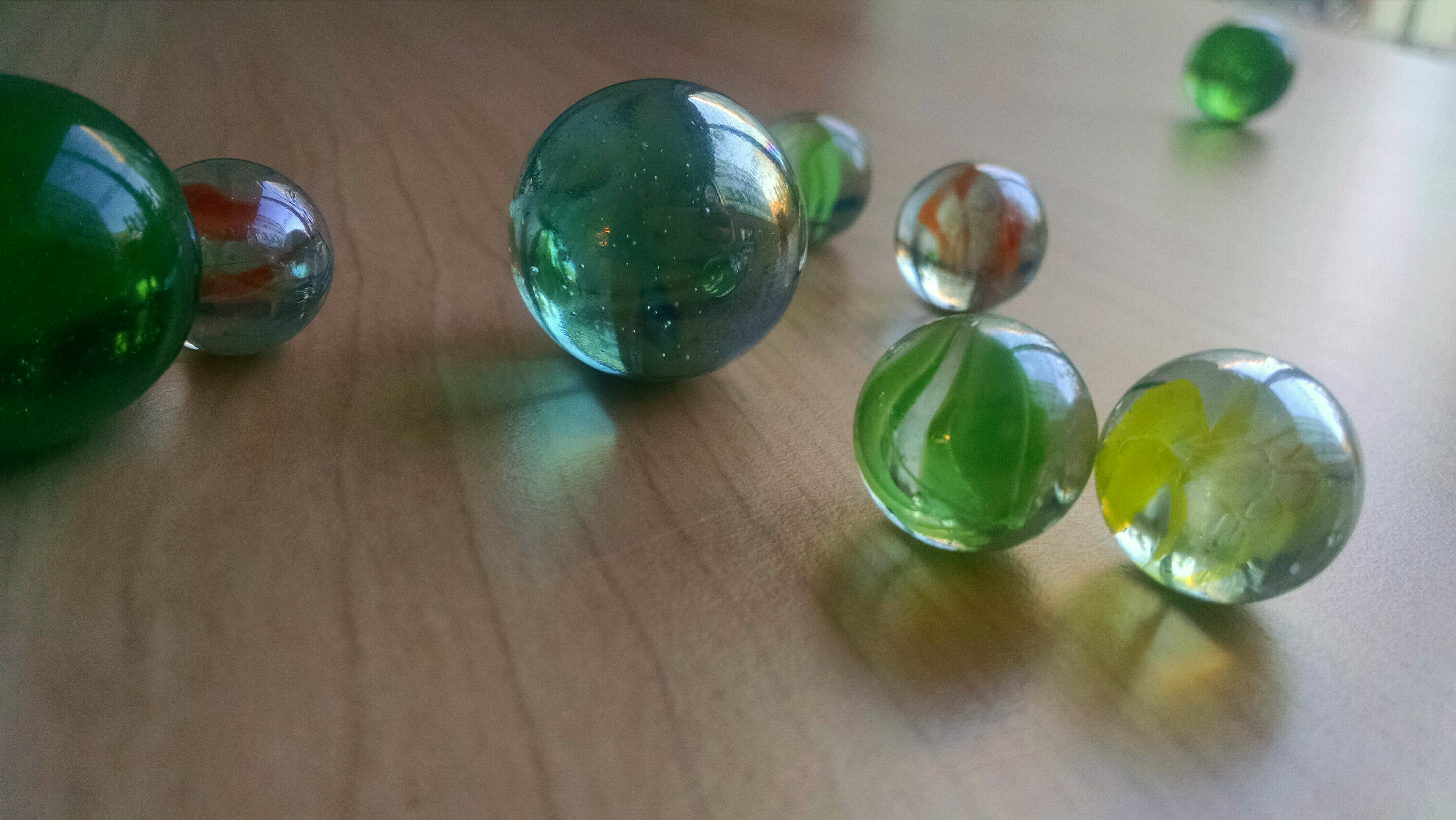Glass Marbles Game : Free stock photo of game glass marbles
