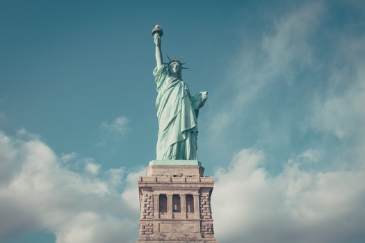 Free stock photo of landmark, architecture, freedom, Statue of Liberty
