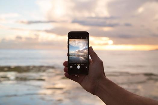 Free stock photo of iphone, smartphone, taking photo, photography