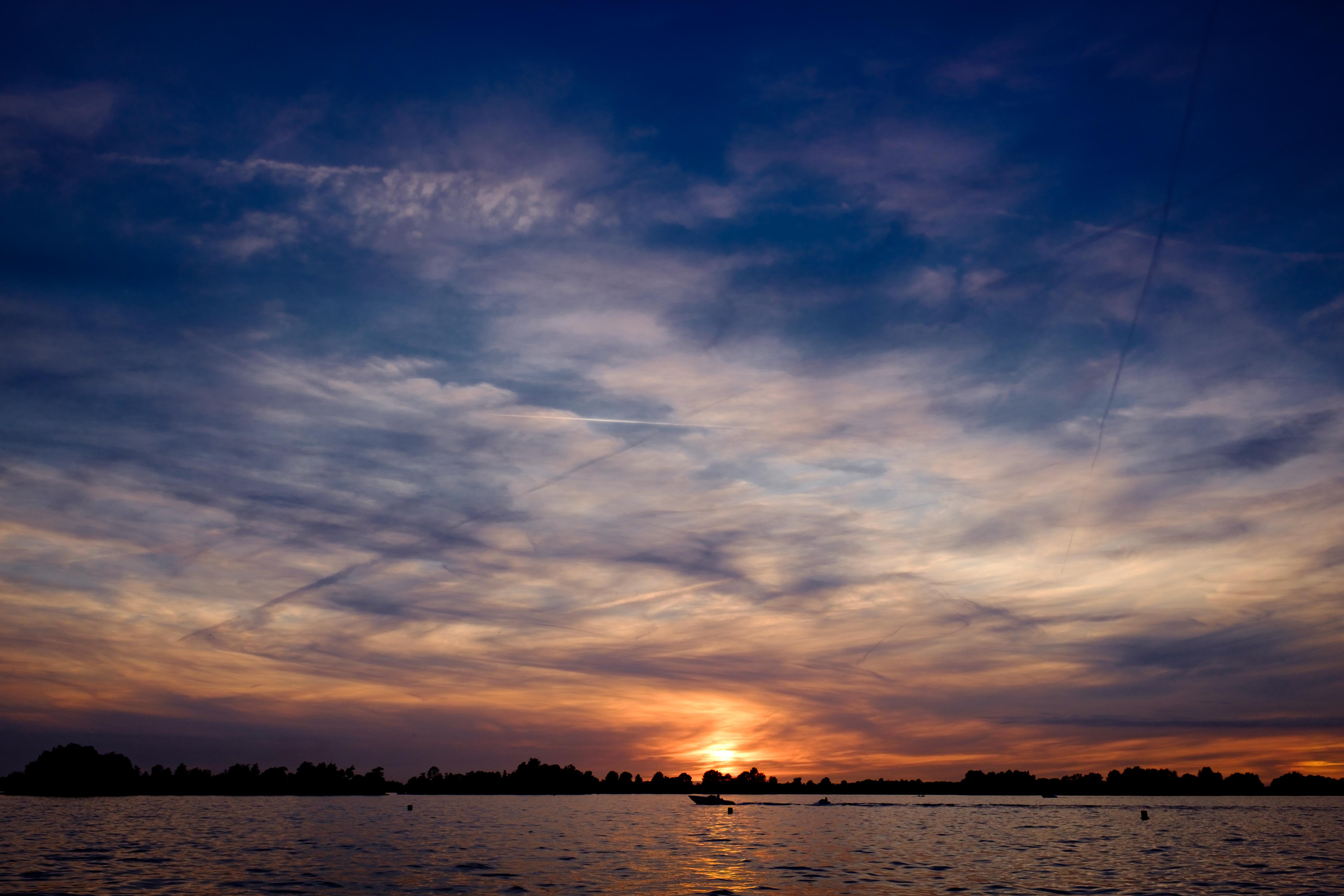 Free stock photo of evening, lake, sky