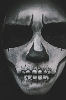 Free stock photo of black-and-white, costume, halloween, horror
