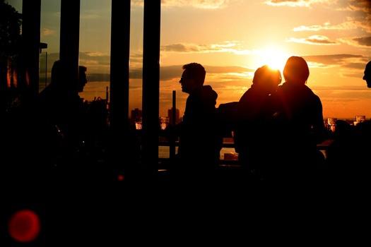 Free stock photo of sunset, people, sunrise, evening