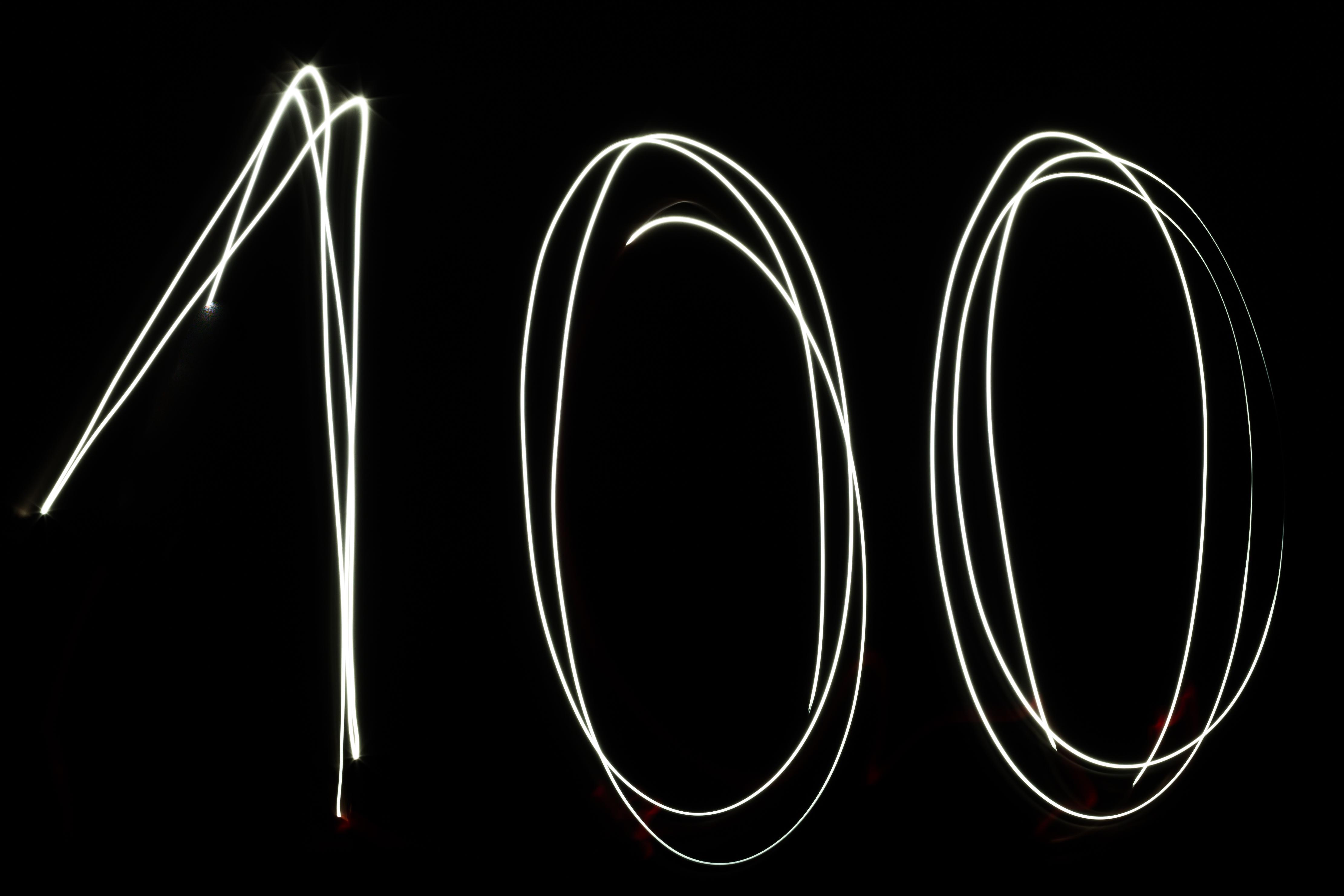 Daily Stock Charts: Free stock photo of 100 celebration daily,Chart