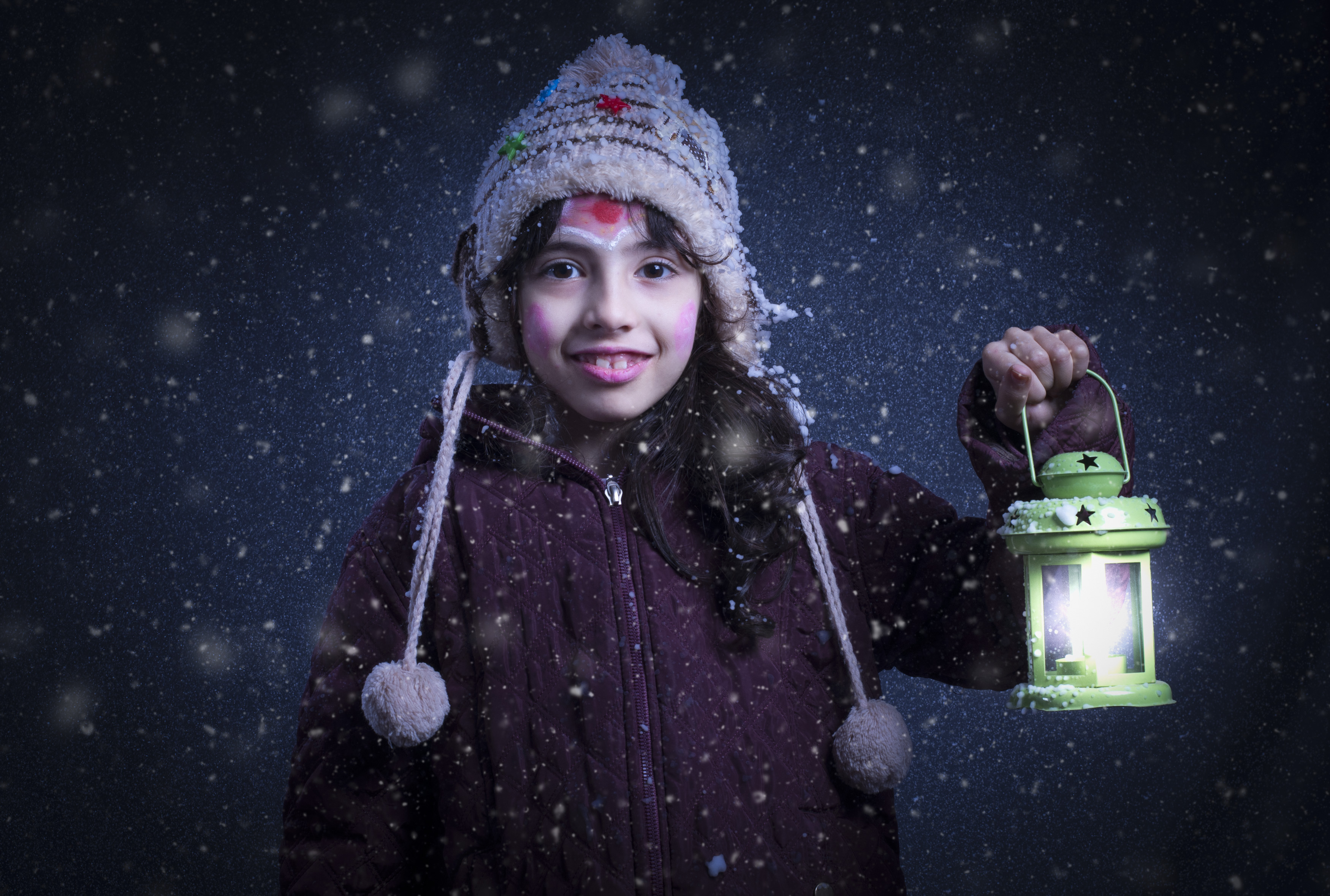 Girl Holding Green Lantern Lamp · Free Stock Photo for Girl Holding Lamp  157uhy
