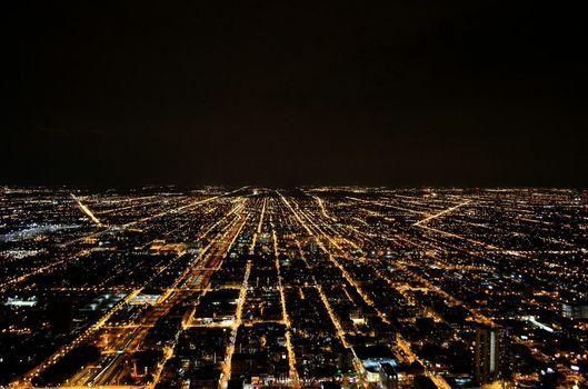 Free stock photo of city, streets, lights, night
