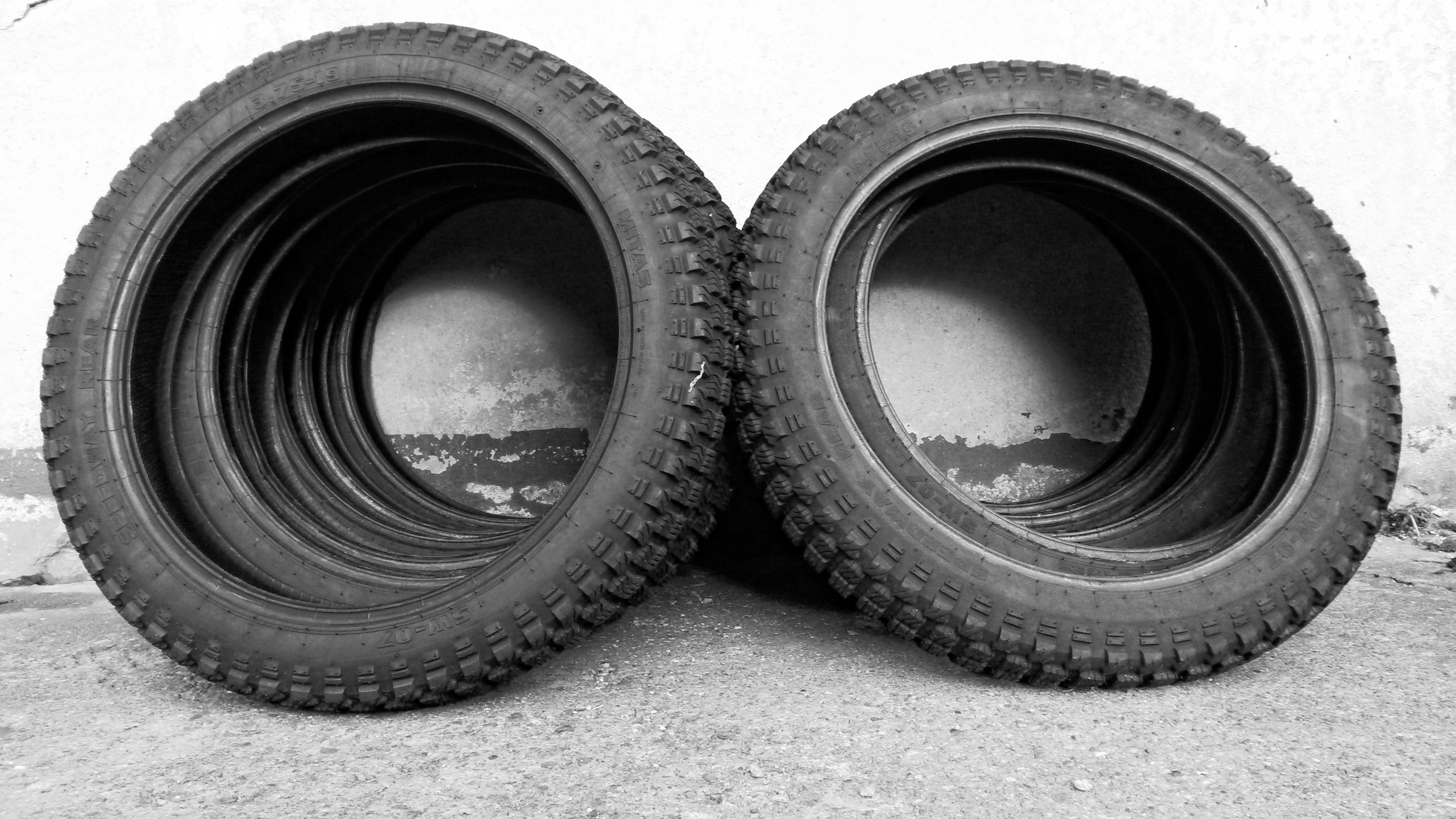Black Tires · Free Stock Photo