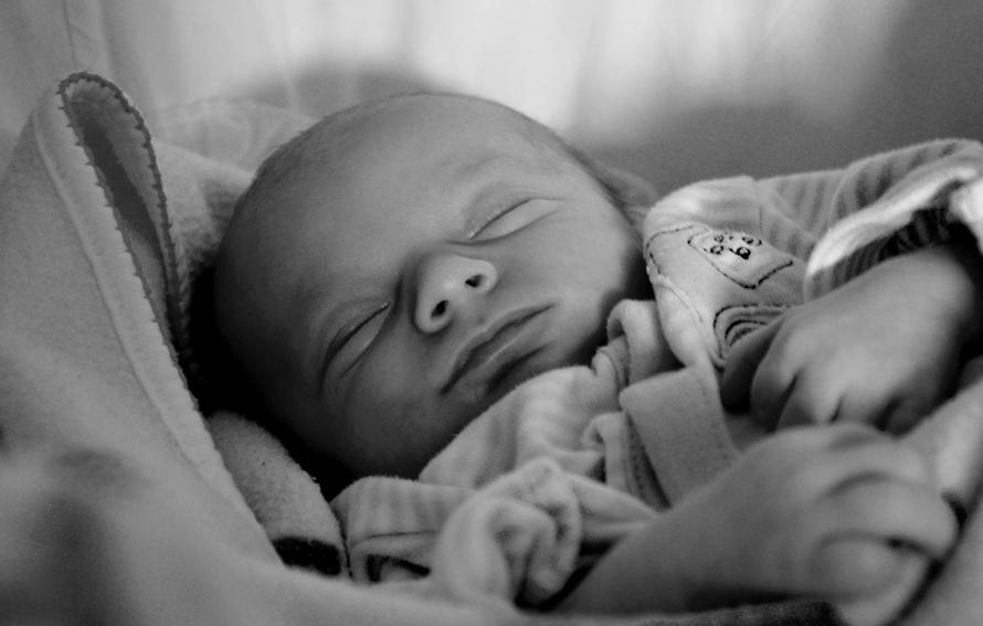 free stock photo of adorable baby blackandwhite