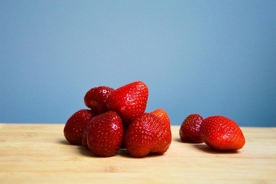 food, fruits, strawberries