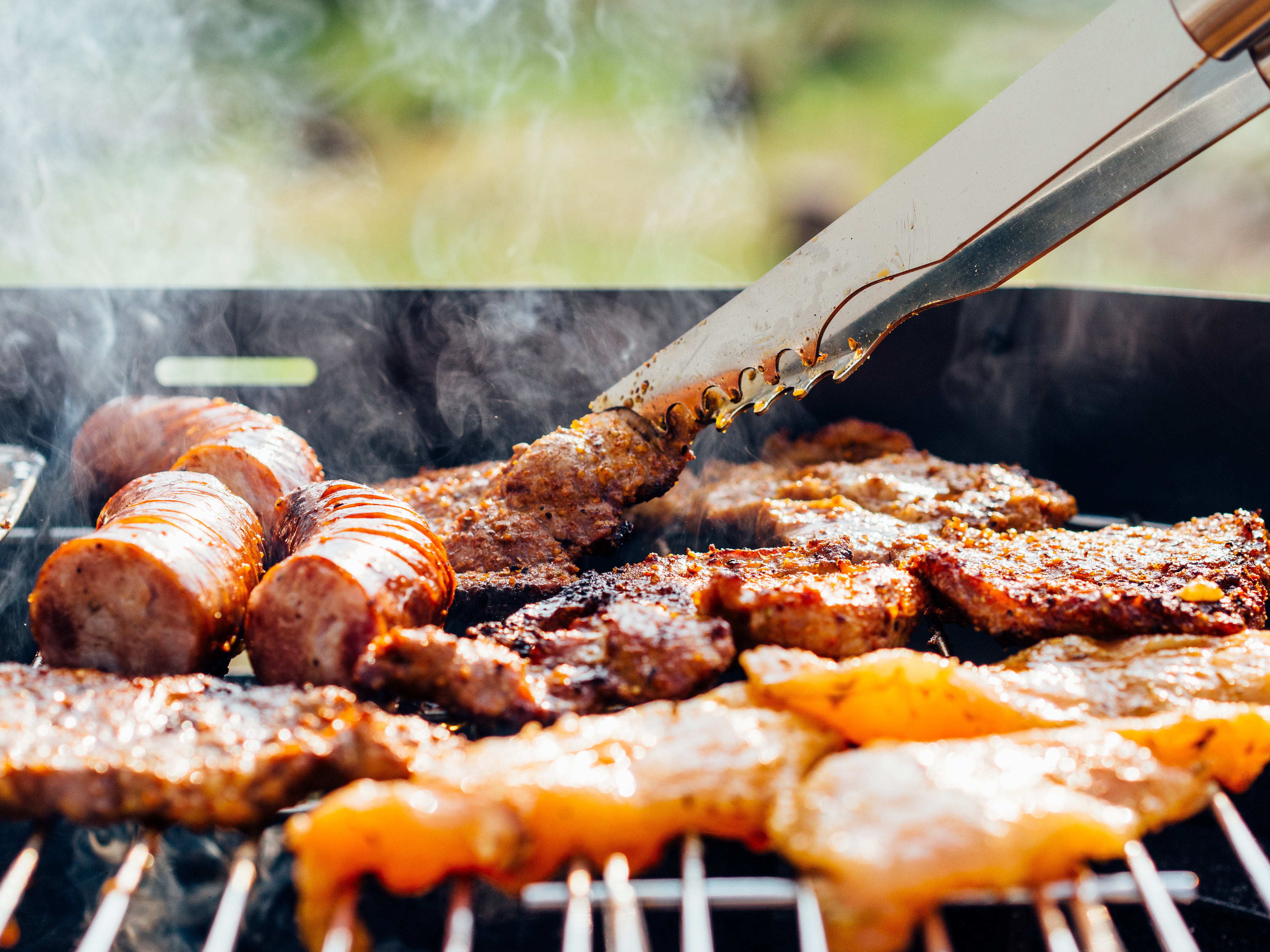 food chicken meat outdoors - Guest Post: Hosting a Healthy BBQ