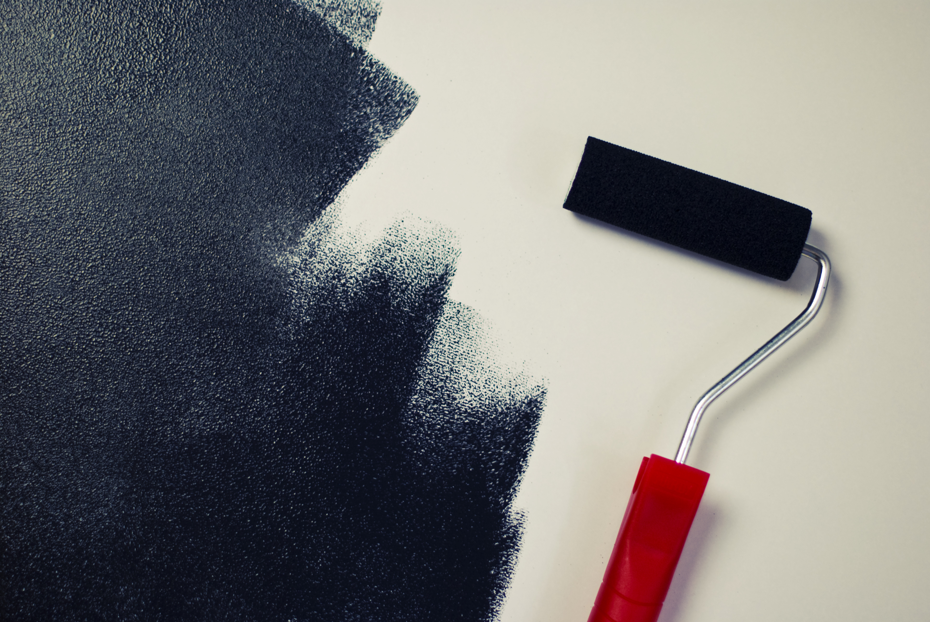 Black Wall Paint free stock photo of black, color, paint