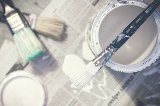 Free stock photo of art, brush, white, creativity