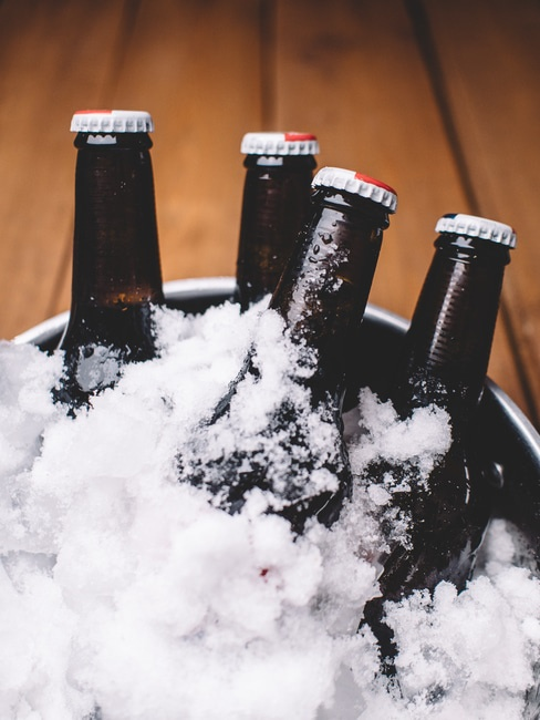 bottles, party, beer