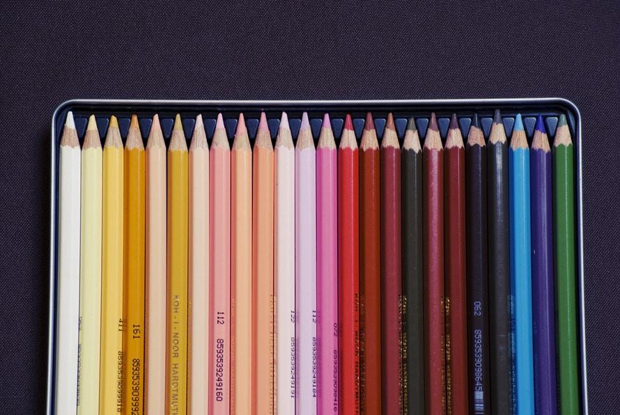 pens, school, colorful
