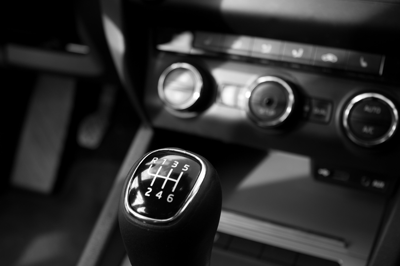 Black Car Panel And Car Shift Gear Free Stock Photo