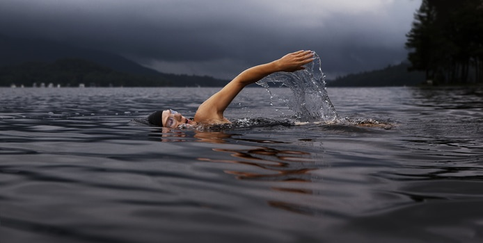 Free stock photo of lake, sport, swimming, exercise