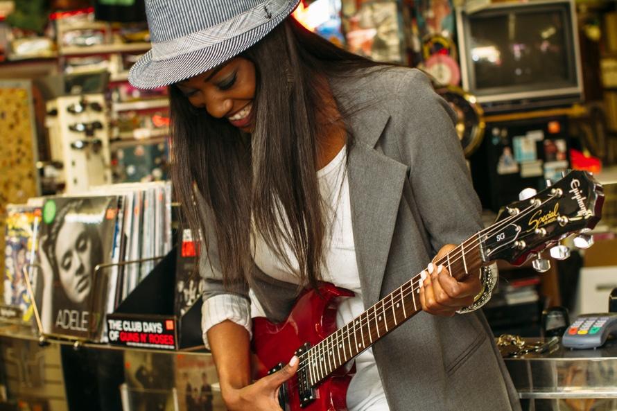 Mūzikas ierakstu veikals: vieta iedvesmas gūšanai