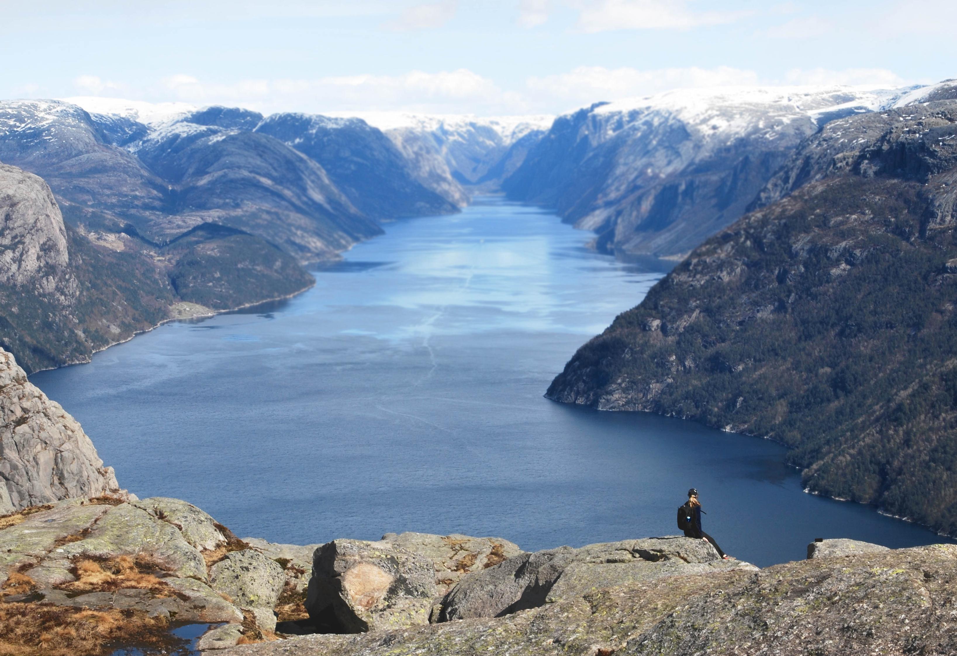 Free Stock Photo Of Fjord Horizont Landscape