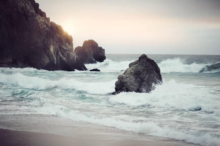 sea, nature, sunny