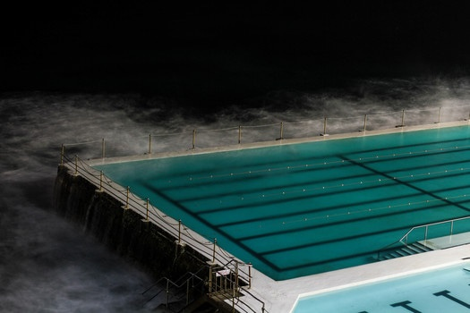 Blue Water on Empty Athlete Pool