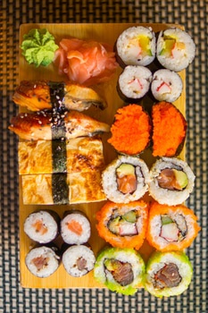 Free stock photo of food, lunch, fish, Japanese