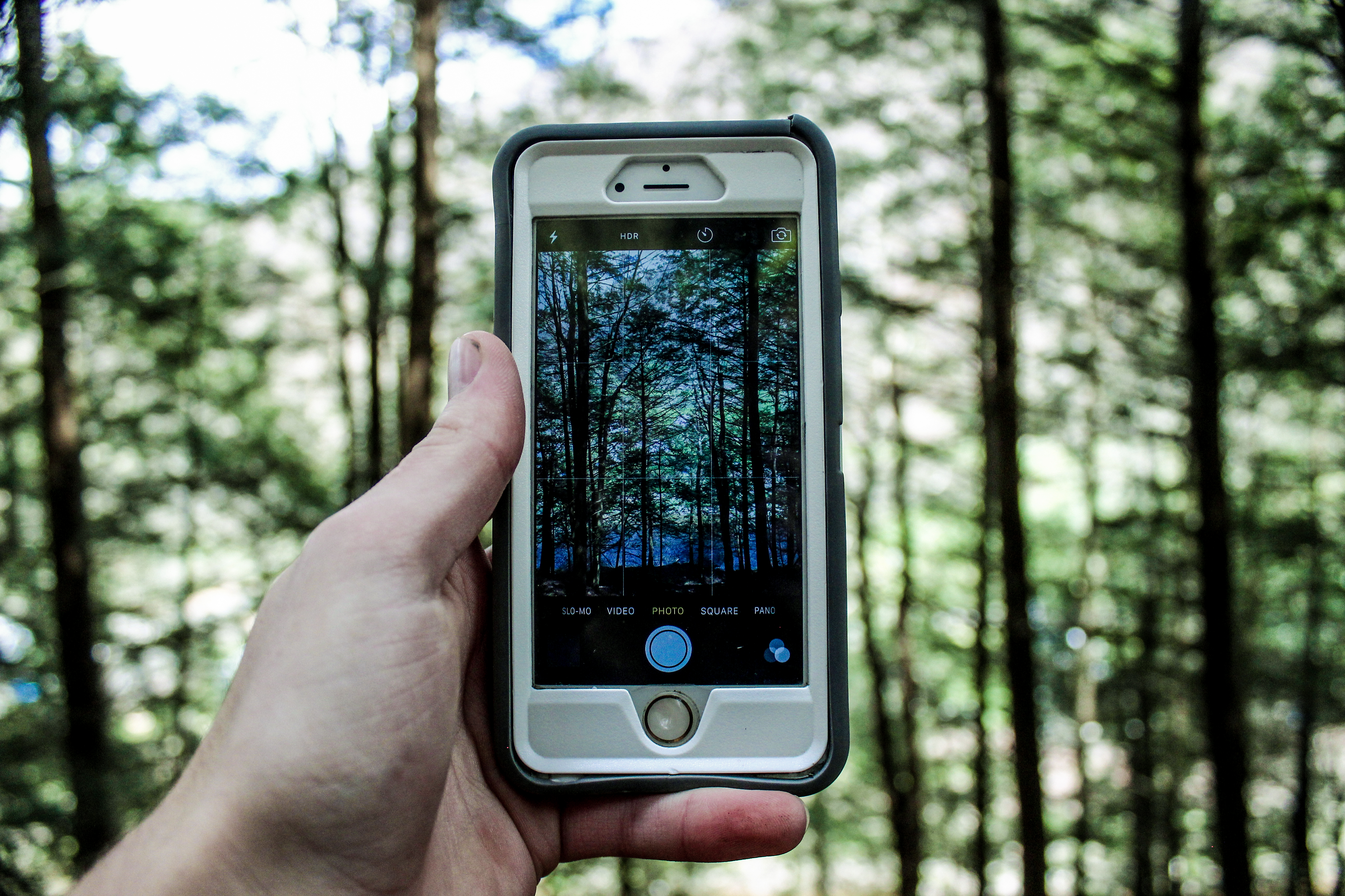 Person Holding Silver Iphone 6 183 Free Stock Photo