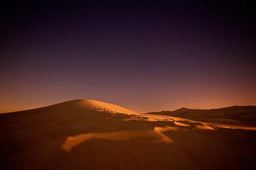 sky, sunset, sand