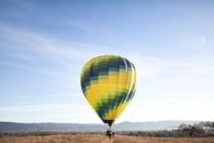 sky, people, balloon