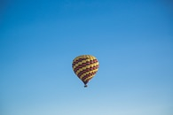sky, flying, hot air balloon
