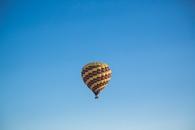 sky, flying, hot air balloon