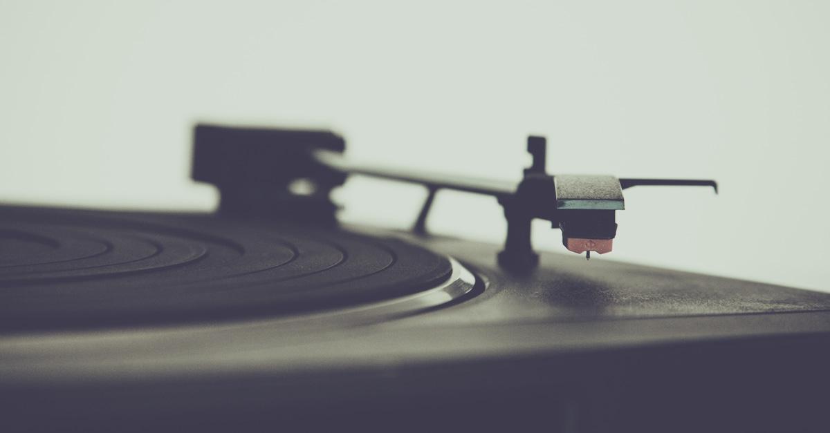 Black Vinyl Disc Player 183 Free Stock Photo