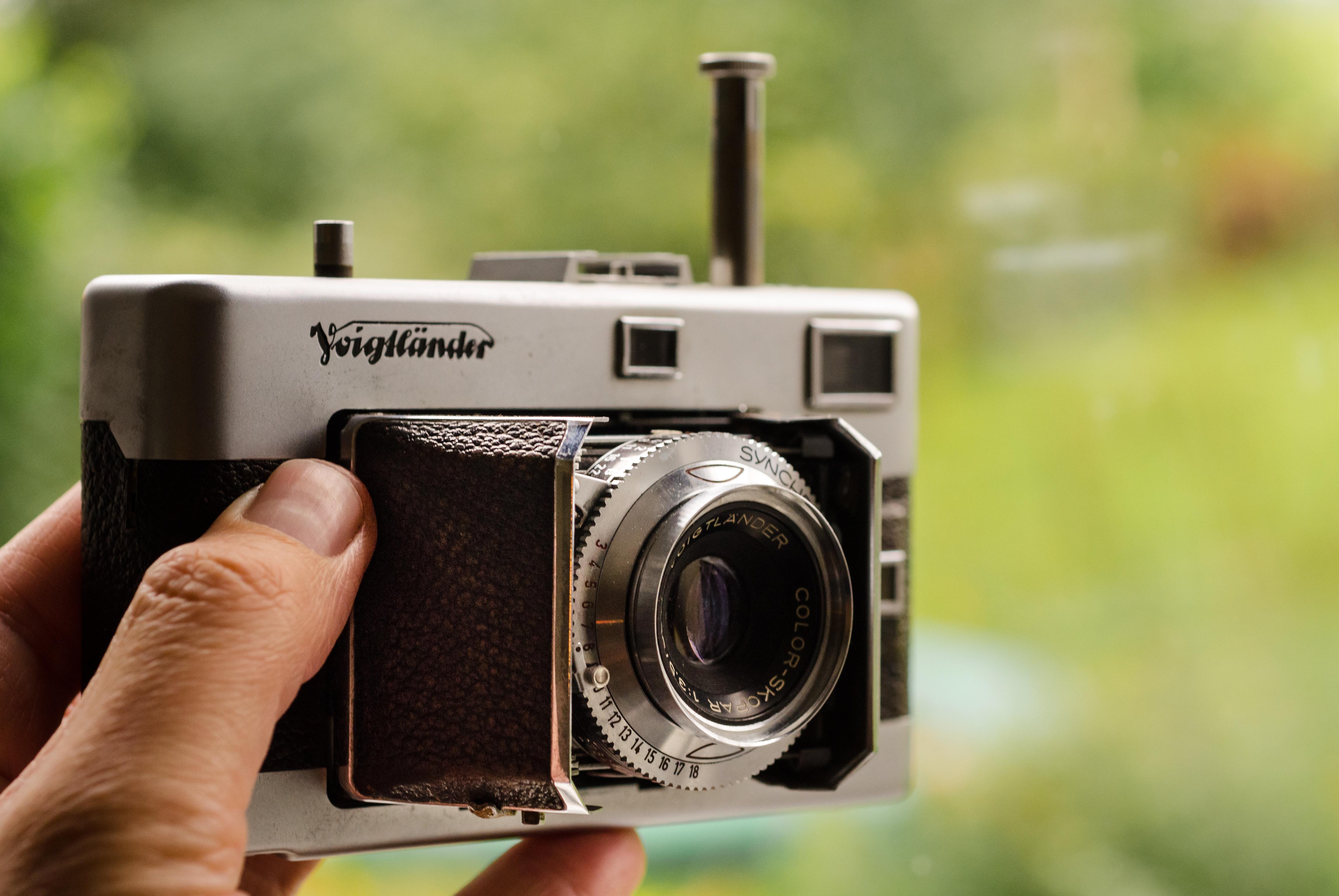 Free stock photo of analog, camera, equipment
