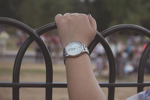 Free stock photo of arm, woman, wristwatch, girl