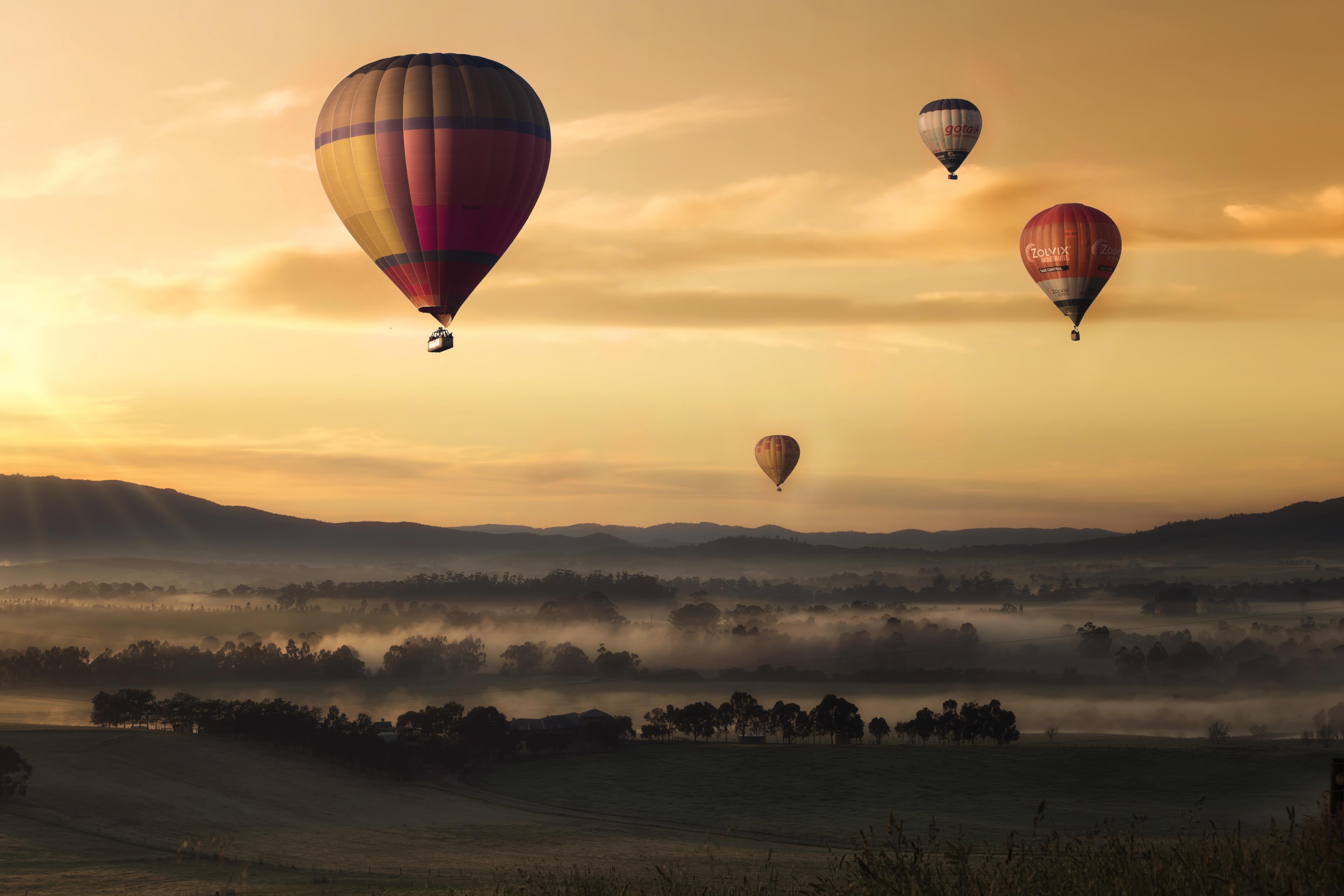 free stock photos of air balloon pexels
