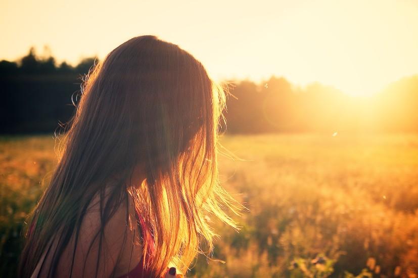 Beautiful, Girl, Hair, Lady, Meadow, Nature