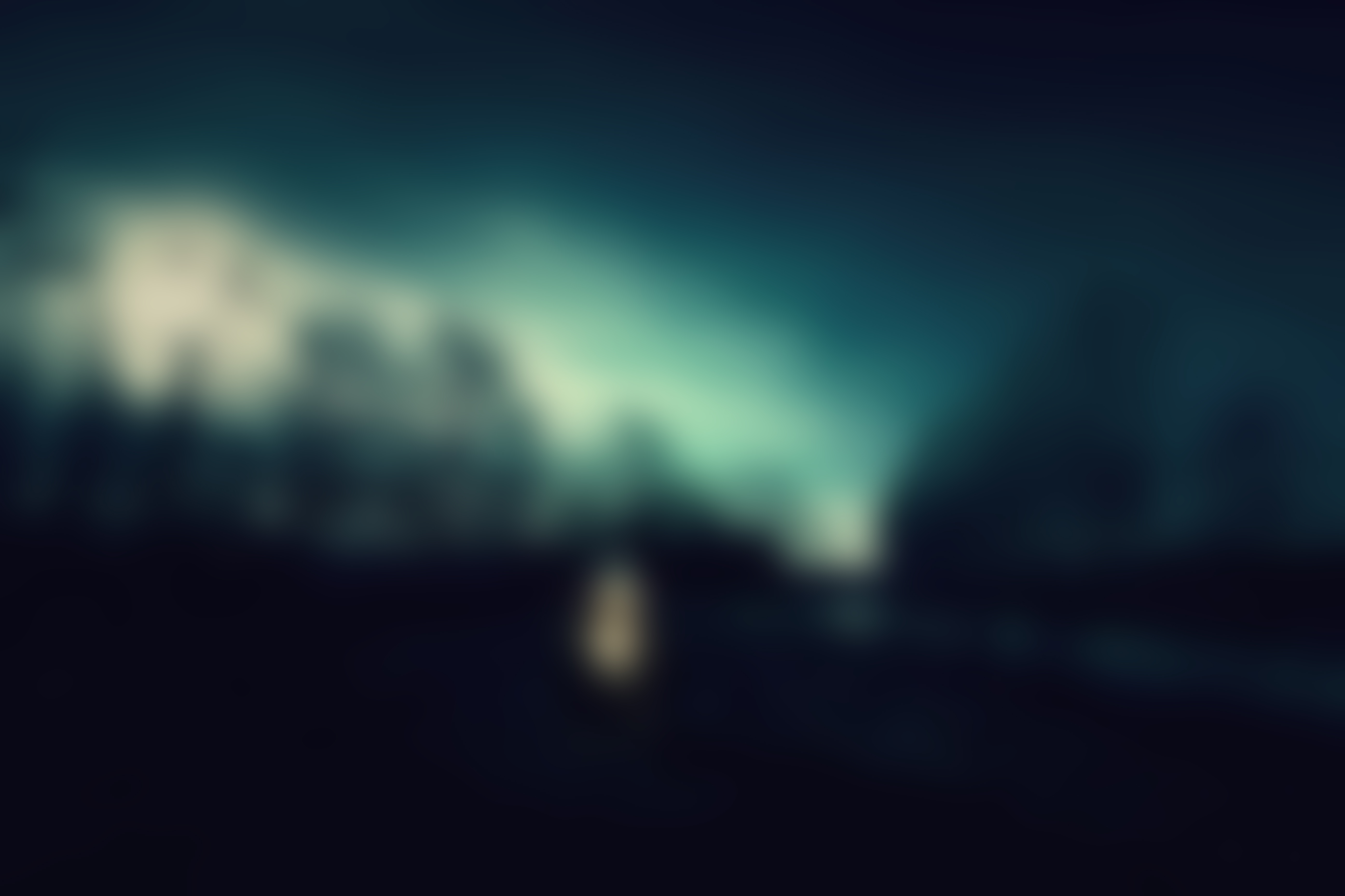 background blur blurred dark night free photo