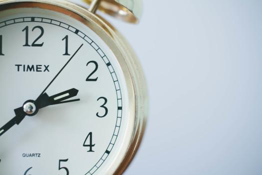 Alarm Clock, Gold, Hands Of A Clock, Home