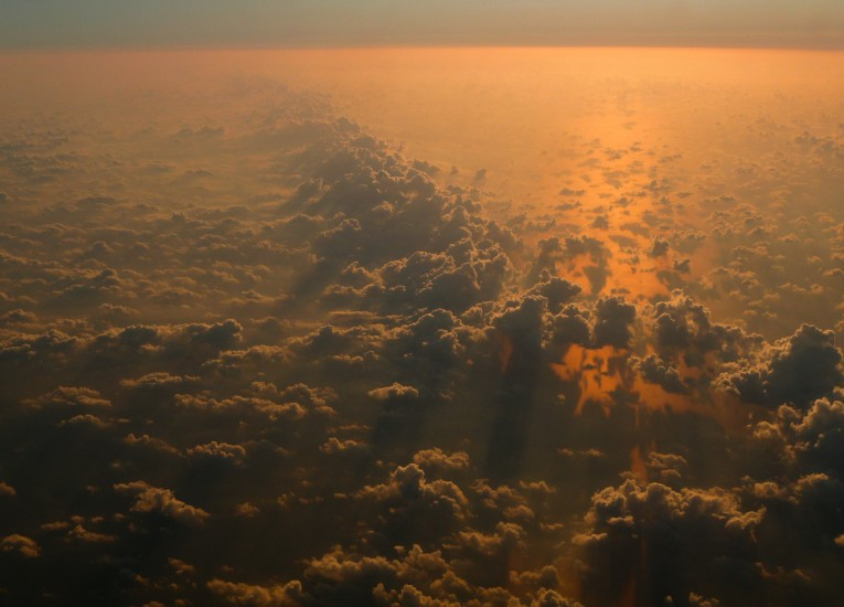Above, Clouds, Cloudy, Dawn, Dust, Earth
