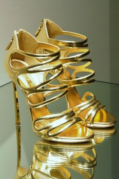 Golden, High Heels, Luxury, Rich